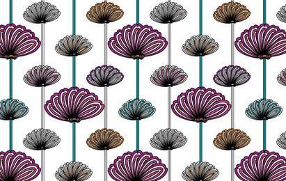 flower wallpaper vector patterns