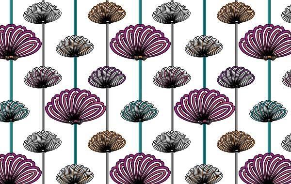 flower wallpaper vector patterns