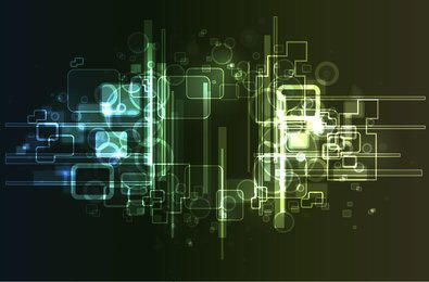 Neonglühen-abstrakter High-Techer Hintergrund