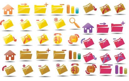 Vector icons set 3