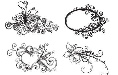 Hand Drawn Vector Ornaments