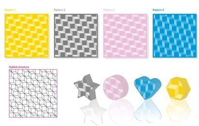 Kubick 3D Pattern