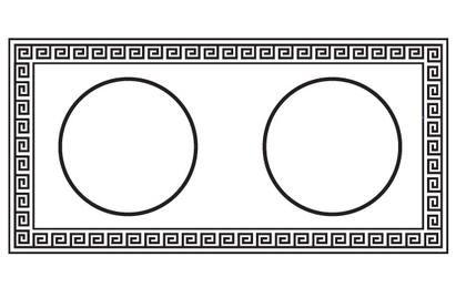 Diseño griego horizontal