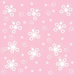 Fundo abstrato de borboleta rosa Funky