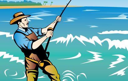 Fiherman Fishing