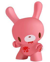 3D Pinkish Bunny Toy