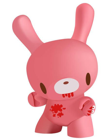 3D Pinkish Bunny Toy