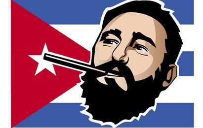 Fidel Castro Portrait