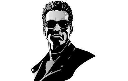 Vetor de Arnold Schwarzenegger