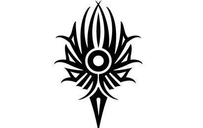 Elemento de diseño tribal