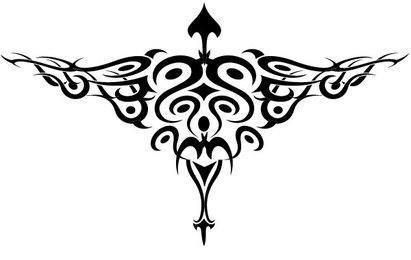Bird Tattoo Style Vector