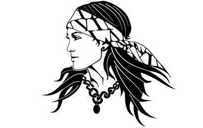 Imagem de mulher cigana