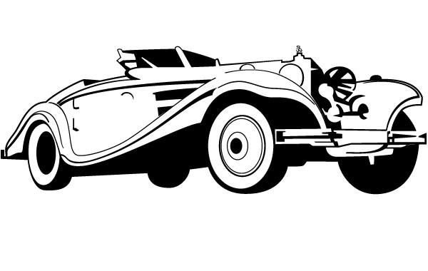 Old Car Vector Vector Download