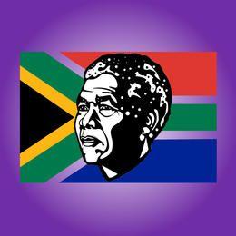 Tributo a Nelson Mandela esboçado