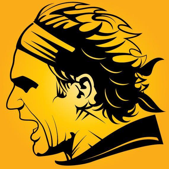 Roger Federer Silhouette Head