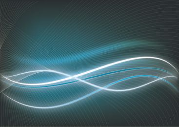Darkish Background with Glossy Twisted Lines