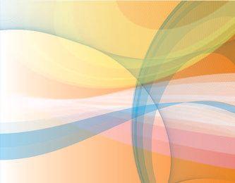 Fundo abstrato colorido com linhas espirais misturadas