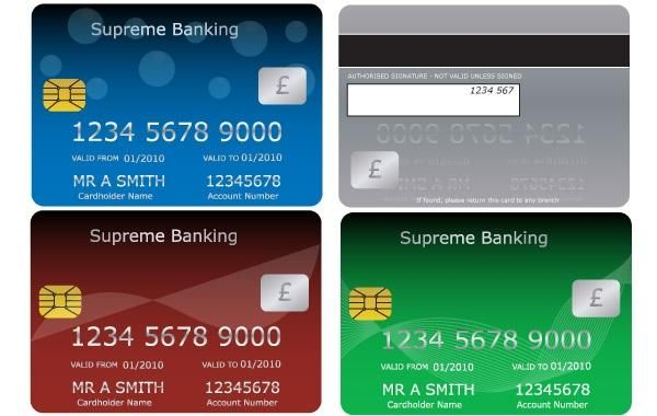 Bank Credit Debit Cards