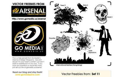 Go Media Vector Freebies de Set 11